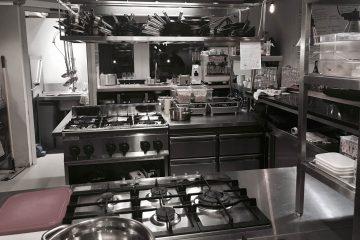 Cuisine de restaurant propre