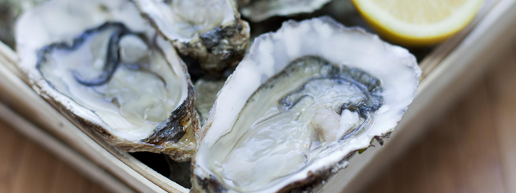 L'huître Lagarre servie par MyTraiteur